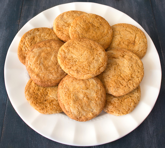 Holiday Gingersnap Cookies