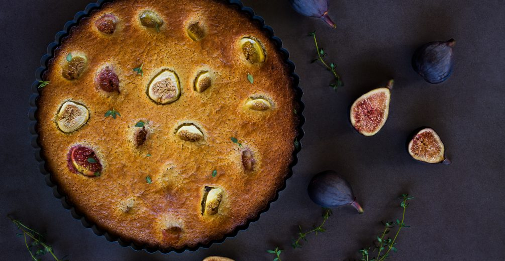 Honey Fig and Almond Tart