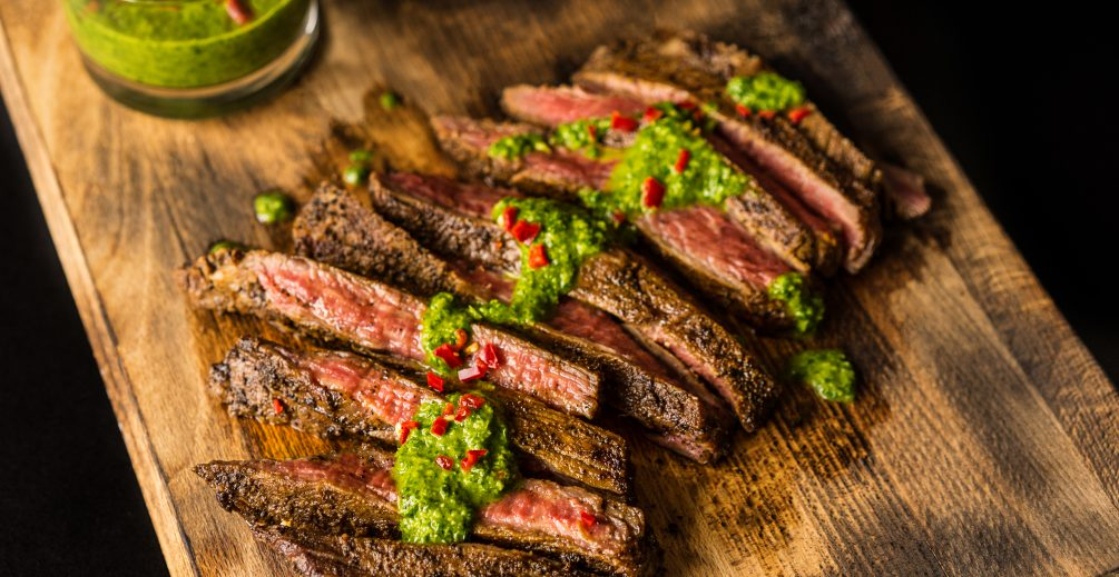 Amazing Coffee Rubbed Flank Steak