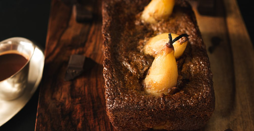 Autumn Pear Chocolate Cake Recipe