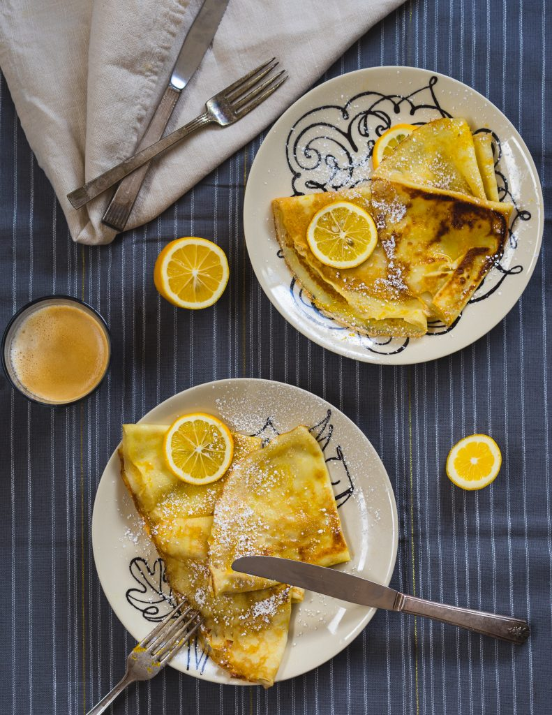 French Lemon Crêpes Recipe