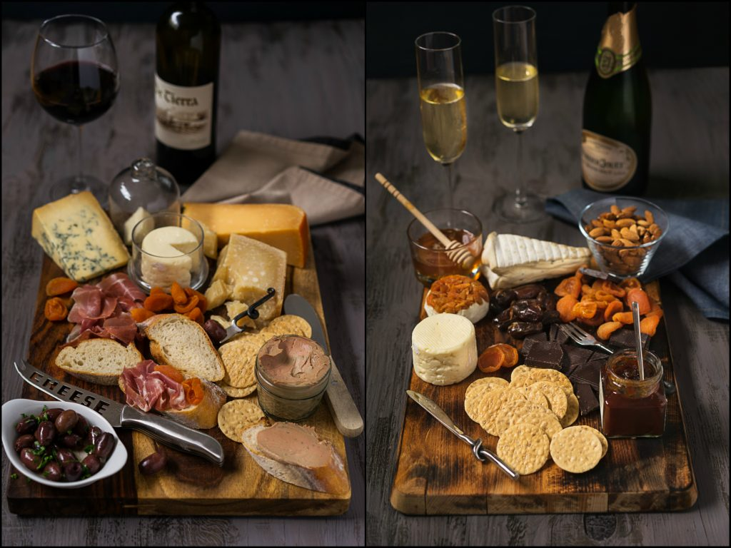 Dessert and Appetizer Cheese Boards