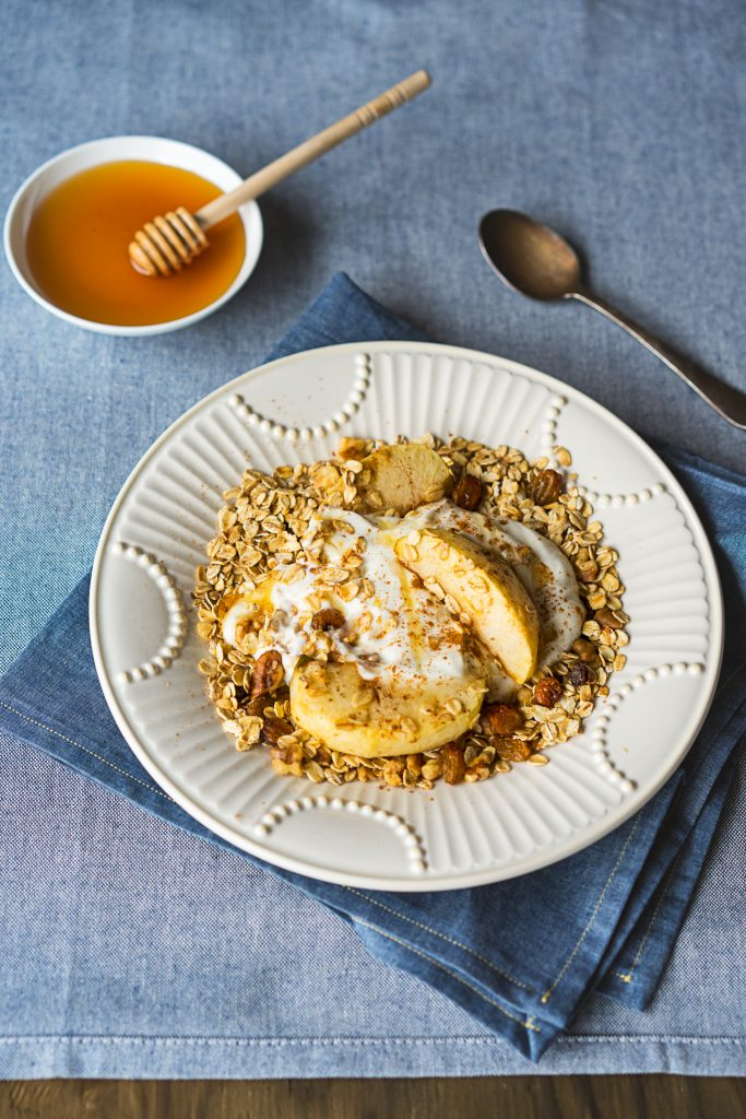 Baked Apple Oats Recipe