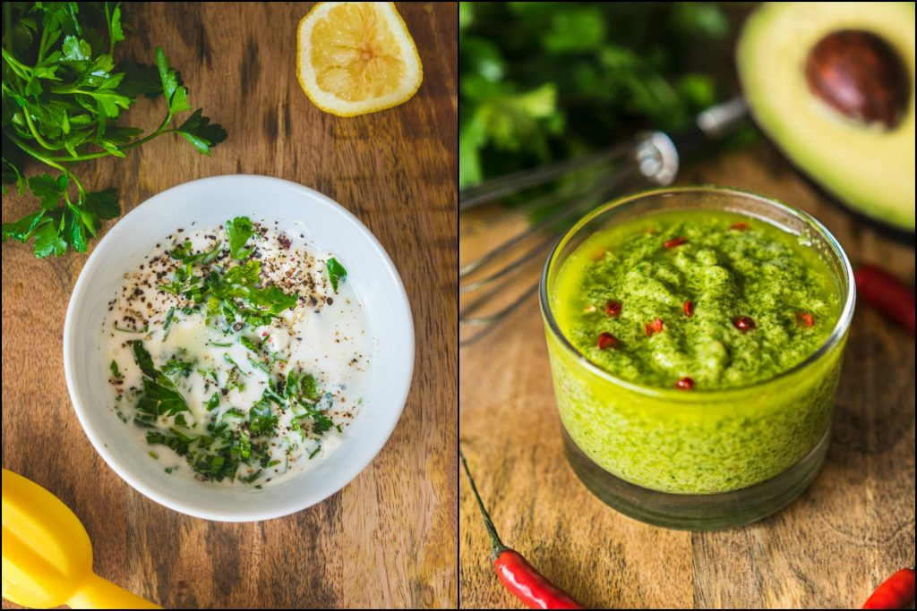 Creamy Salad Dressings: Ranch & Avocado