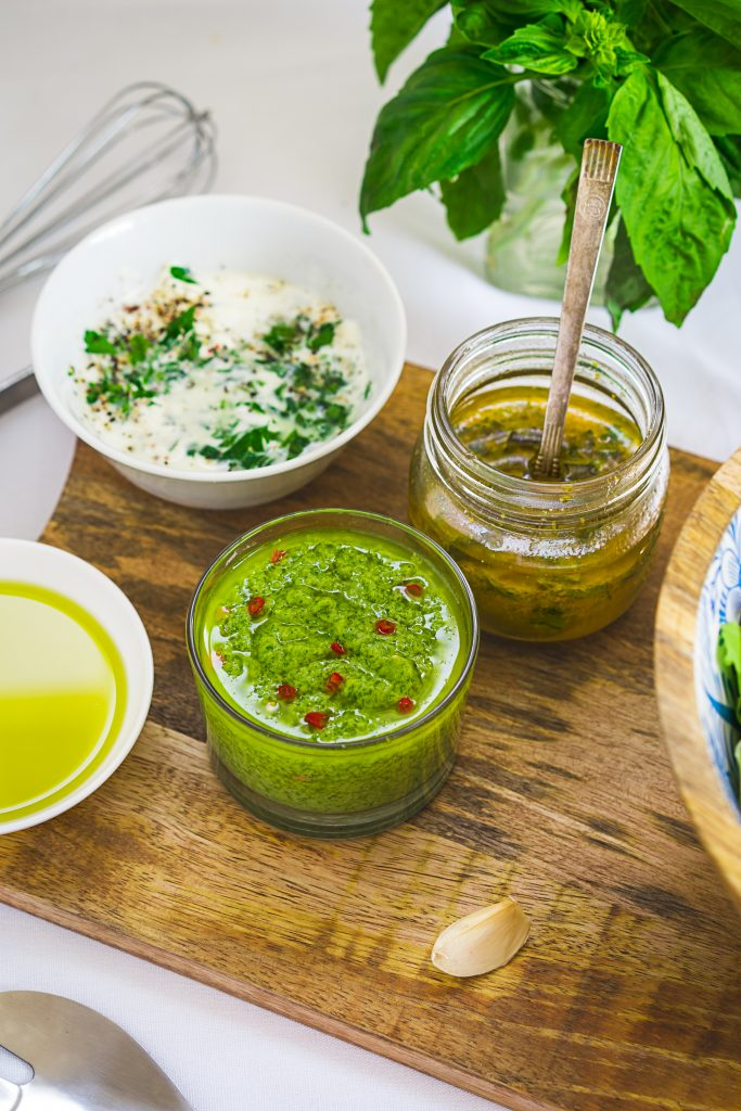 Salad Dressings variety