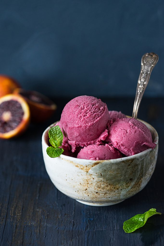 Orange Coconut Sorbet