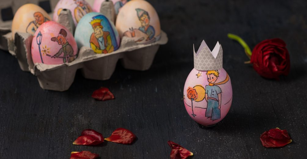 The Little Prince Easter Eggs