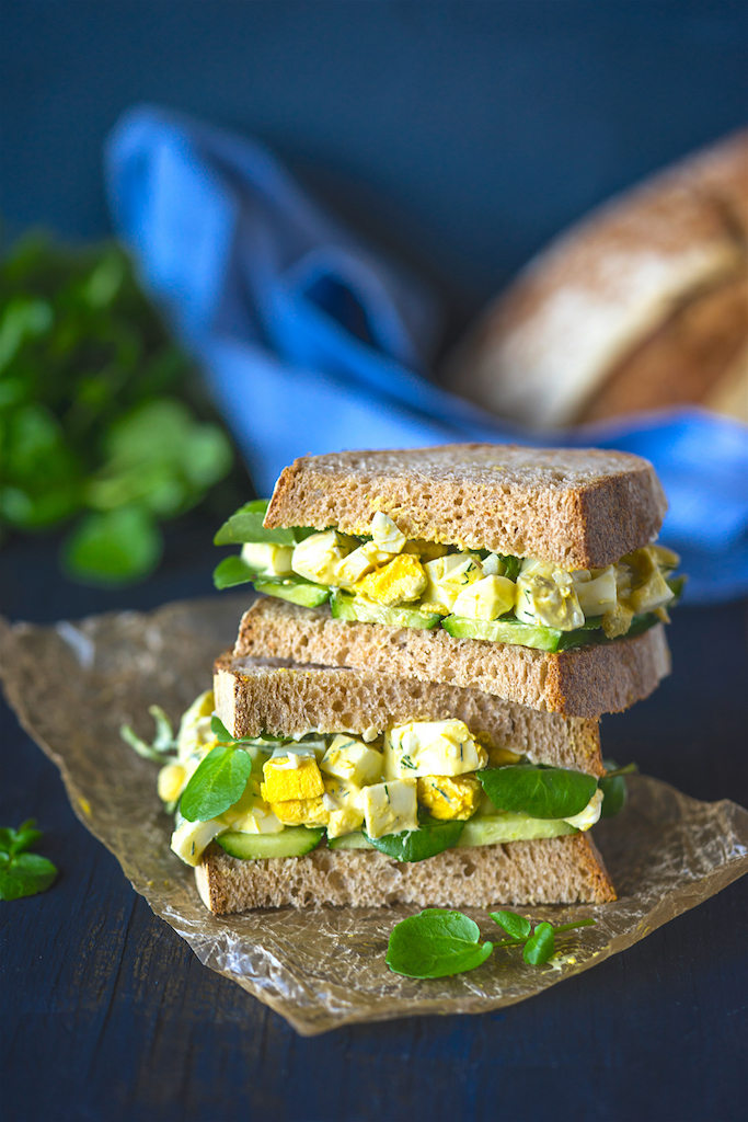 Healthy and Delicious Egg Salad Sandwich - Viva La Food