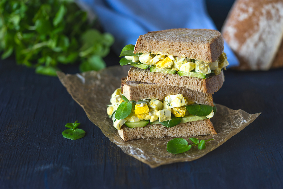 Healthy and Delicious Egg Salad Sandwich